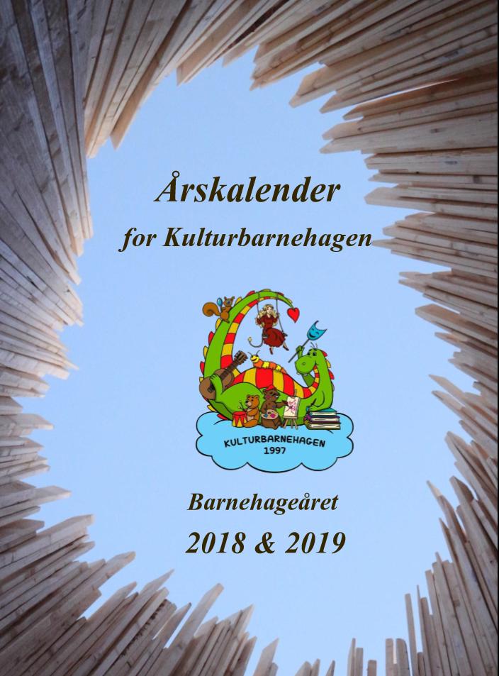 Årsplan Kalender 2018 & 2019